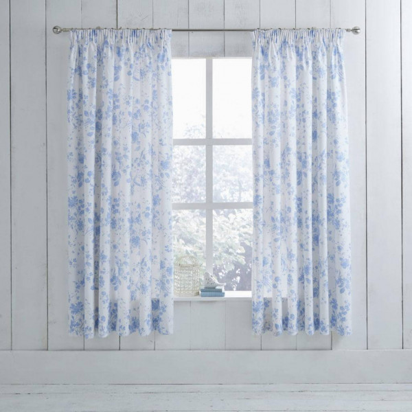 Amelie Blue Curtain