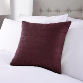 Suede Cushion Cover