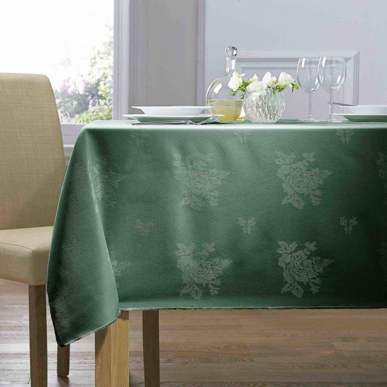 forest-green-damask
