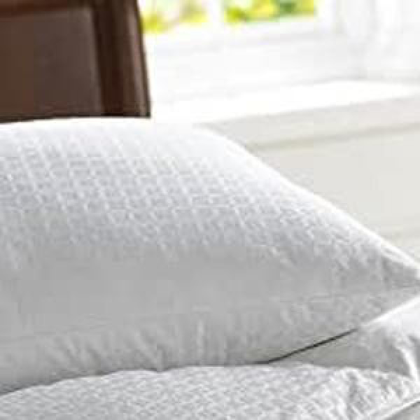 Microgel Pillow with Jacquard
